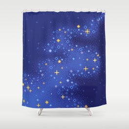 Lapis Universe Shower Curtain