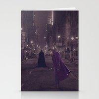 gotham Stationery Cards featuring Gotham Nights by Ed Burczyk