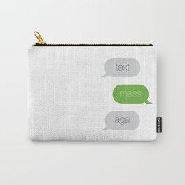 Text Message Pop Art Print Carry-All Pouch