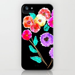 Bunches of Posies iPhone Case
