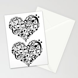 Music love Stationery Cards