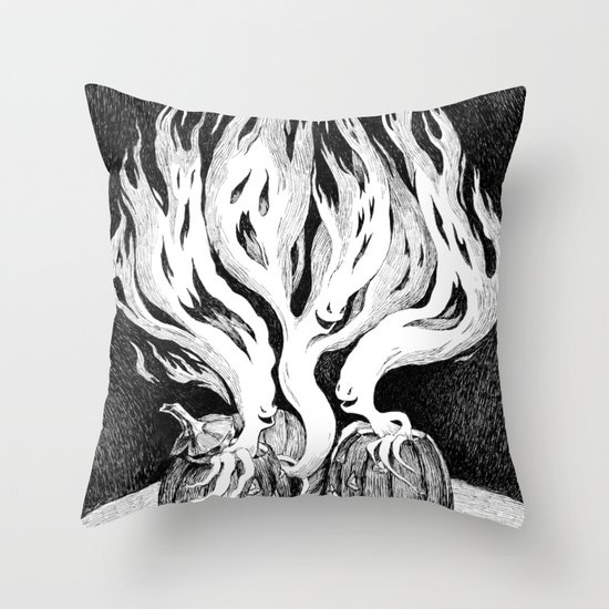 Escape Throw Pillow