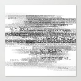 Names of God Canvas Print