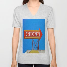 Let's Ride Unisex V-Neck