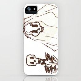 Skeleton Wedding iPhone Case