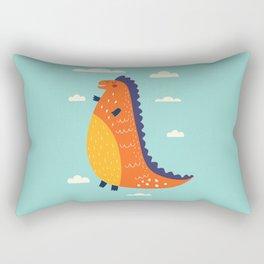 Funny Dinosaur Rectangular Pillow