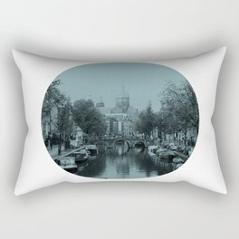 Amsterdam Canal #1 Rectangular Pillow