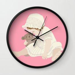 BABY GIRL PINK Wall Clock