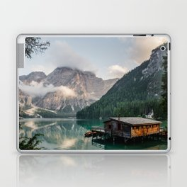 Mountain Lake Cabin Retreat Laptop & iPad Skin