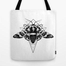 Geometric Moth Tote Bag