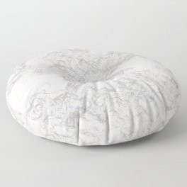 Paper Marble Floor Pillow