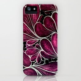 Funny Flowers iPhone Case