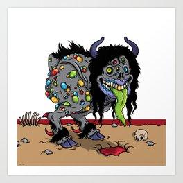 Bipedal Styx Walker Art Print