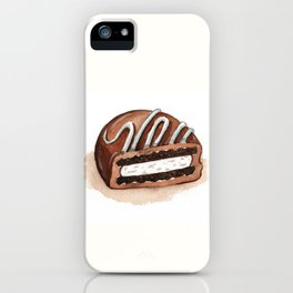 Chocolate Covered Cookie iPhone Case