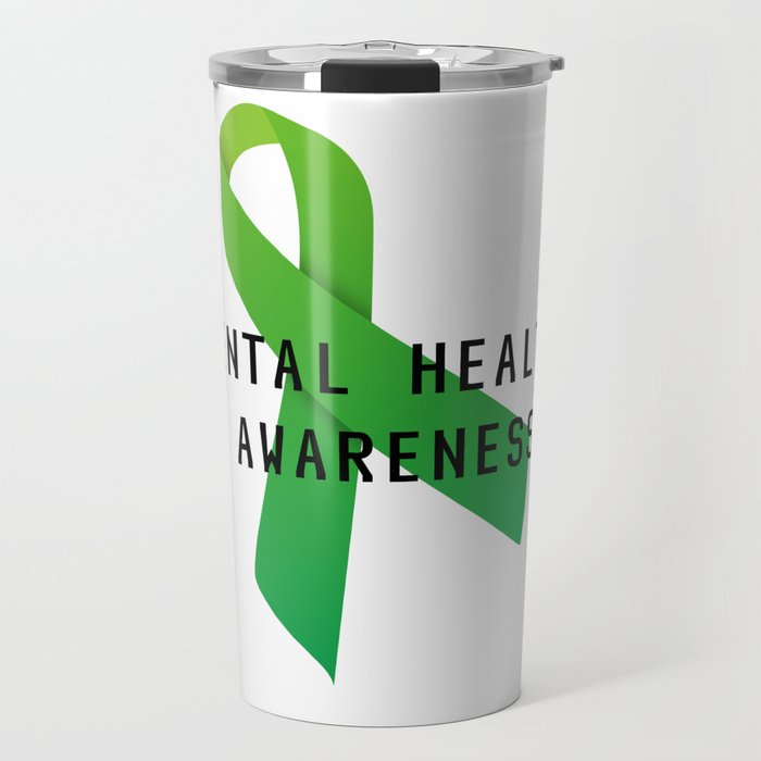 Mental Health Awareness Travel Mug