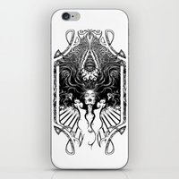 goddess iPhone & iPod Skins featuring Goddess by 6amcrisis