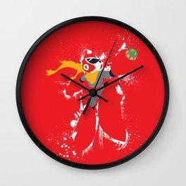 Protoman Splattery Design Wall Clock