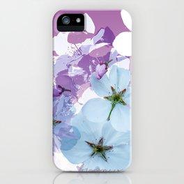 Almond Blossoms Violet 2 iPhone Case