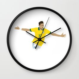 Neymar Wall Clock