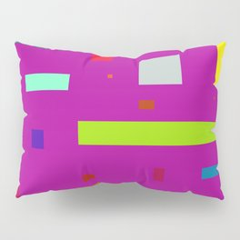 Squares and Rectangles 2 Pillow Sham