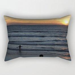 Sunset at Pismo Rectangular Pillow