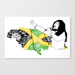 Jamaica -  Freedom Time Canvas Print