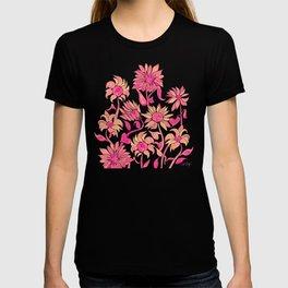 Sunflower Watercolor – Pink Palette T-shirt