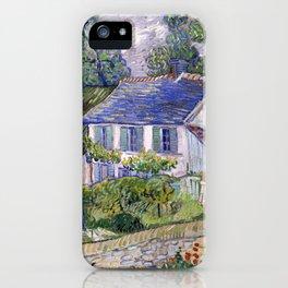 Vincent Van Gogh Houses At Auvers iPhone Case