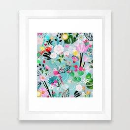 jolly birds Framed Art Print