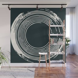 In Circles Like Records Wall Mural