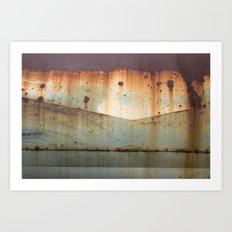 the airstream Art Print