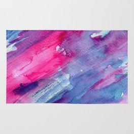 Melting colors || watercolors Rug