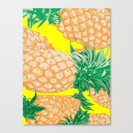 Pineapple, 2013. Canvas Print