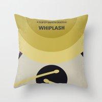 No761 My Whiplash minimal movie poster Throw Pillow
