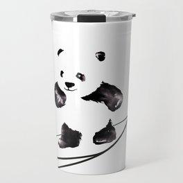Surfing Panda Travel Mug