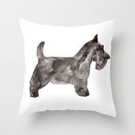Scotty Dog Throw Pillow