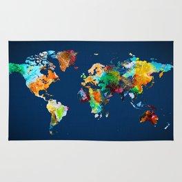 World Map 25 Rug