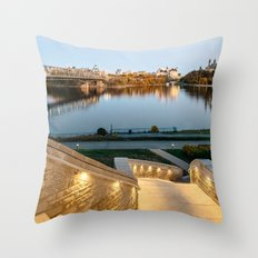 Sunset on Ottawa Throw Pillow