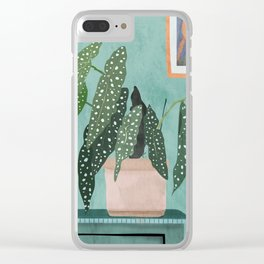 Plant 5 Clear iPhone Case