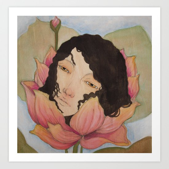 Bloom :: Lotus ::  Art Print