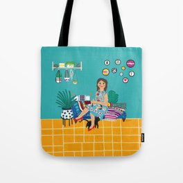 Couch Slouch Tote Bag
