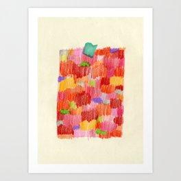 delicious colour Art Print