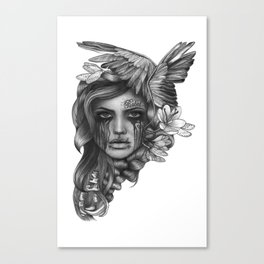 REBEL REBEL Canvas Print