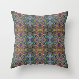 Tryptile 23 (repeating 1) Throw Pillow