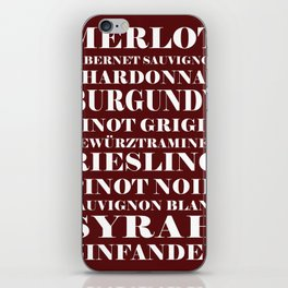 Wine Celebration iPhone Skin