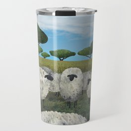 greener pasture Travel Mug
