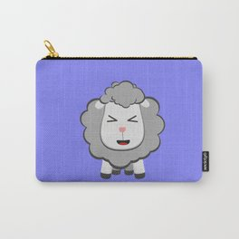 Happy Kawaii Sheep Carry-All Pouch