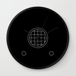 Radioactivity Wall Clock