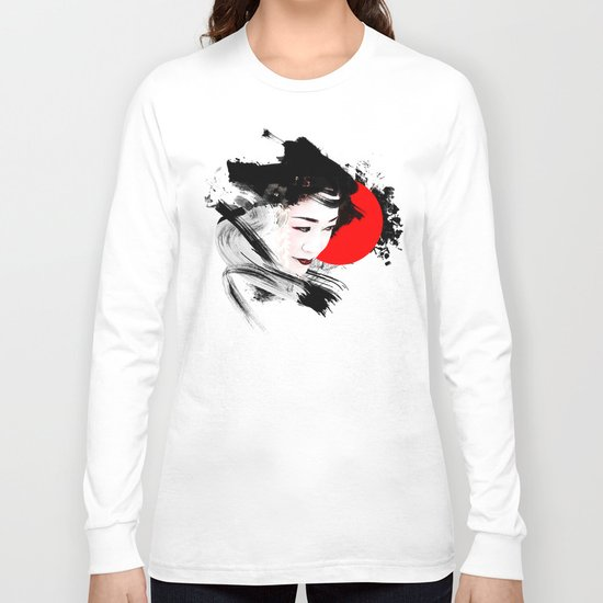 Japan - Kyoto - Geisha Long Sleeve T-shirt