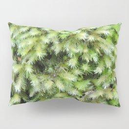 TEXTURES -- Moss on a Tree Trunk Pillow Sham